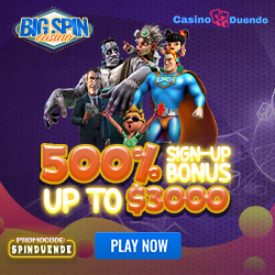 Apuesta en casino Big Spin