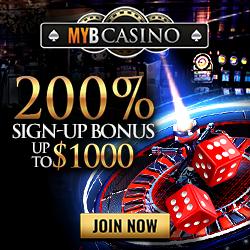 Bet on MYB Casino