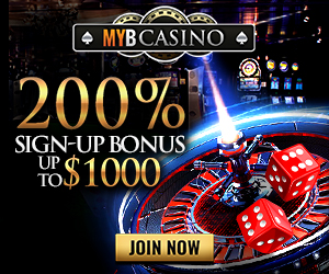 Bet on MYB Casino