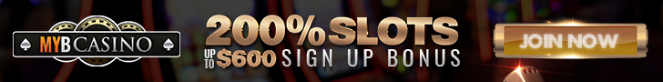 mybcasino 200% slots up to $600 bonus